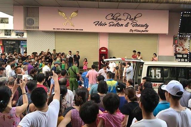 Nhân chứng bàng hoàng kể về vụ nổ ở Linh Đàm khiến nhiều người bị thương