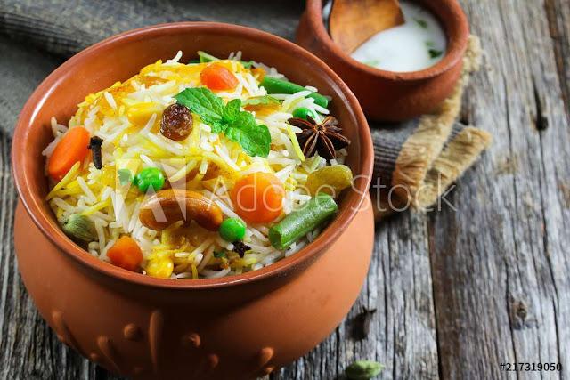 Recipe For Veg Biryani In Hindi - वेज बिरयानी कैसे बनाये.