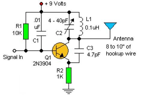 Eletrônica e Injeção Epaulino*: Transmissor FM com 2N3904.