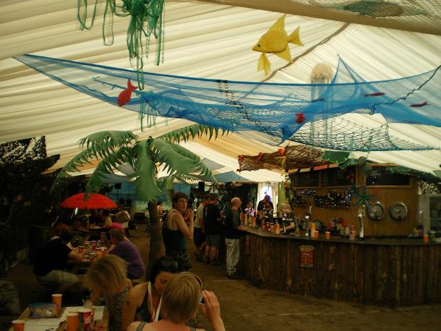 Caribbean Beach Bar Decor