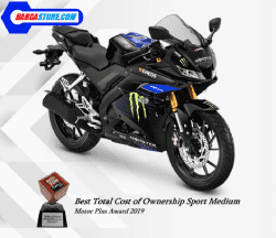 YZF R15 Monster Energy Yamaha Motogp Edition