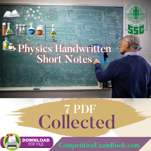 Physics Handwritten Notes in Hindi PDF For Competitive Exams