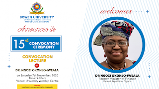 Bowen University 15th Convocation Ceremony Date Announced