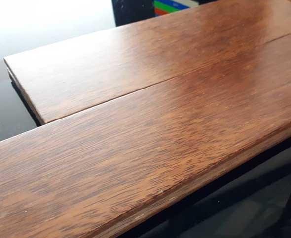Flooring merbau coating