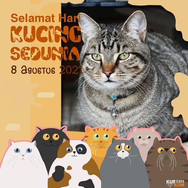 Link Twibbon Hari Kucing Sedunia 2021