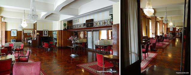 Sala de estar do Hotel Astoria - Coimbra, Portugal