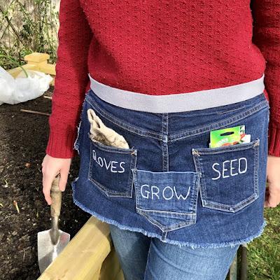 easy to sew gardeners apron