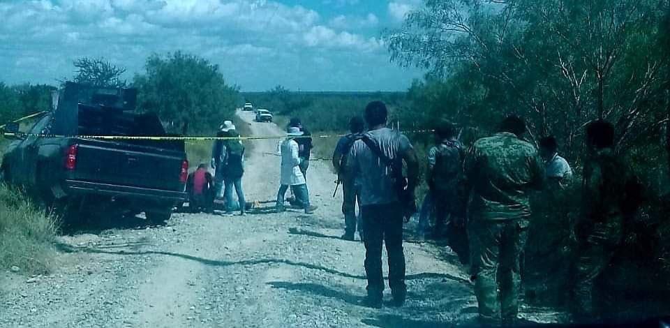 IMÁGENES: Enfrentamientos entre CDG y CDN deja 7 sicarios abatidos en Miguel Alemán, Tamaulipas