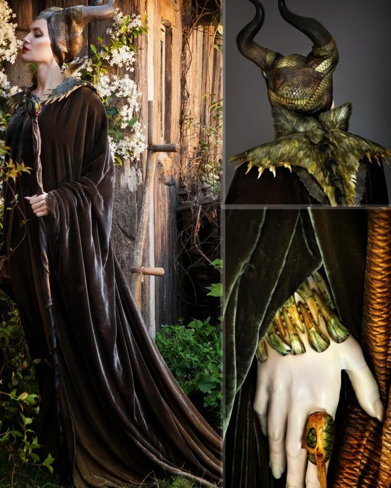 Malevola filme Angelina Jolie figurino