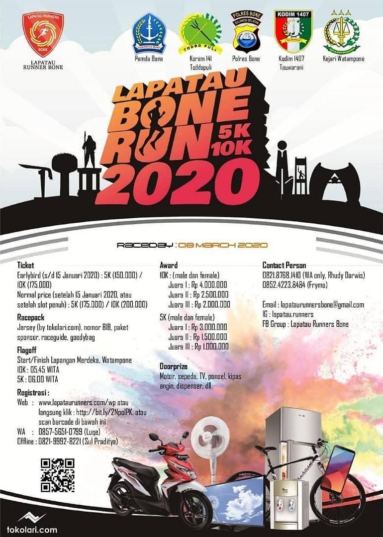 Lapatau Bone Run • 2020