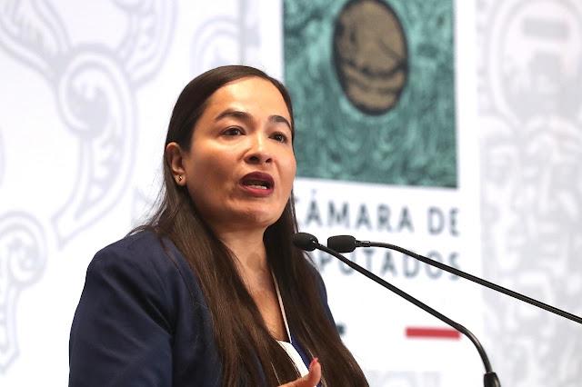 Vallas en Palacio Nacional, reflejo del desprecio a la exigencia de justicia de las mujeres: Verónica Juárez