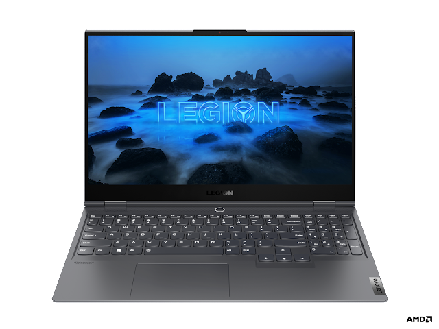 Portátil para gaming Lenovo Legion Slim 7 apresenta processadores mobile AMD Ryzen