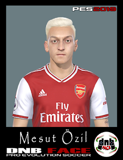 PES 2019 Faces Mesut Özil by DNB