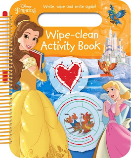Disney Princess Wipe-Clean Activity Book: cover