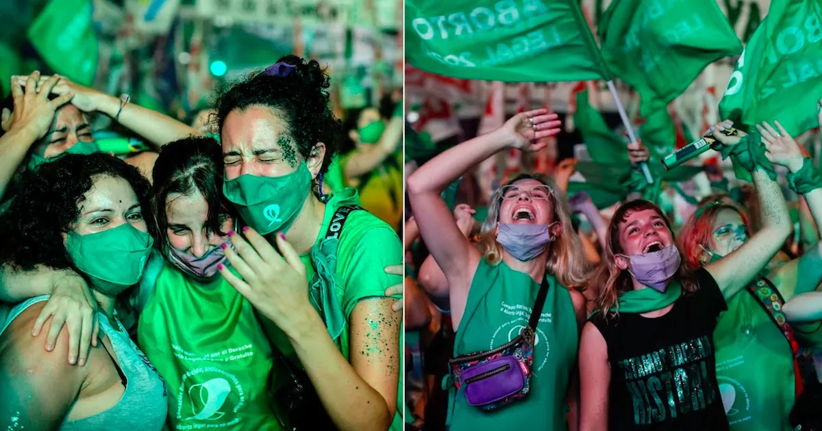 Argentina Legalises Abortion Up To The 14th Week Of Pregnancy Sparking Hope For Further Change Across Latin America
