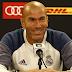 Zinedine Zidane Mengomentari Pemain Usai Kemenangan Real Madrid (1 - 0) Atas Bayern
