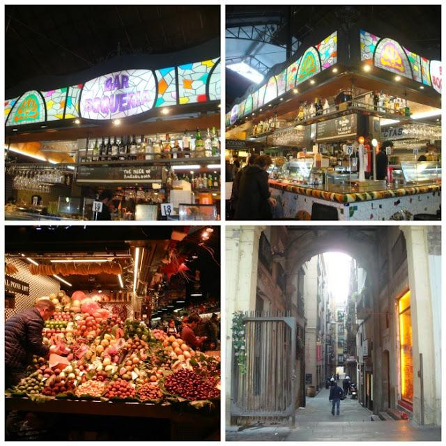 Food Markets pelo mundo - Mercado de la Boqueria, Barcelona