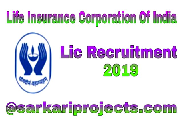 Lic Recruitment 2019