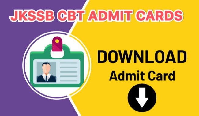 JKSSB |Admit cards for CBT to be held from 25 September are available