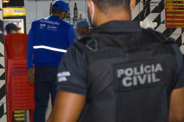 Bahia: Doze pessoas são autuadas no primeiro dia do toque de recolher