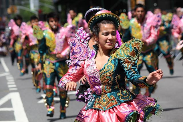 Desfile de la danza de Nueva York - Caporales San Simon