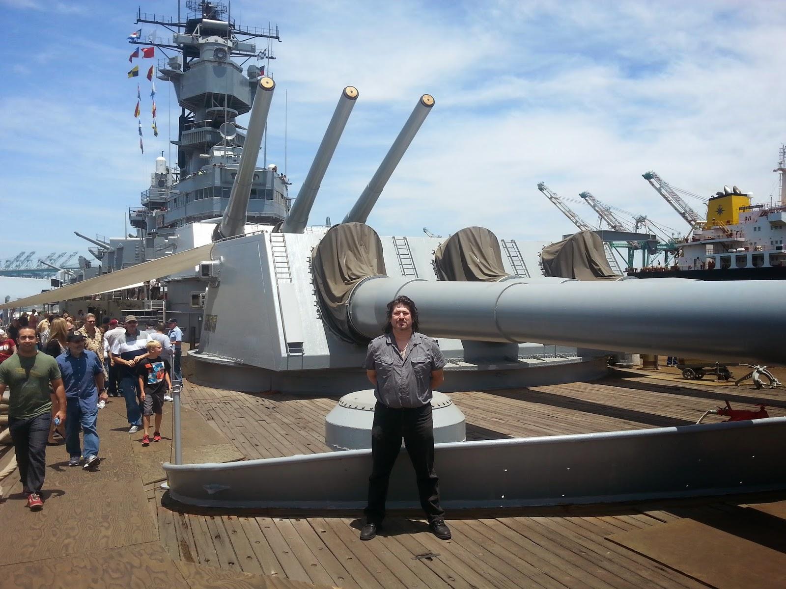 American Mishima: American Mishima Visits The Battleship Iowa BB-61