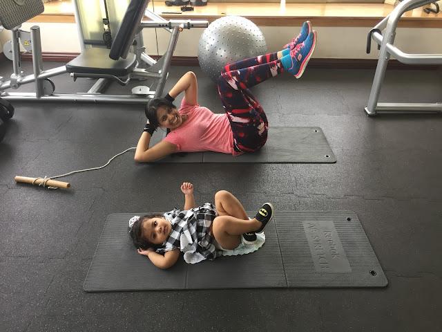 Mum & Daughter: Gymming Together in Dhaka