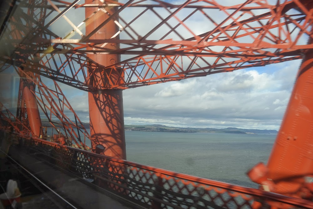 Fife seen from Forth Rail Bridge