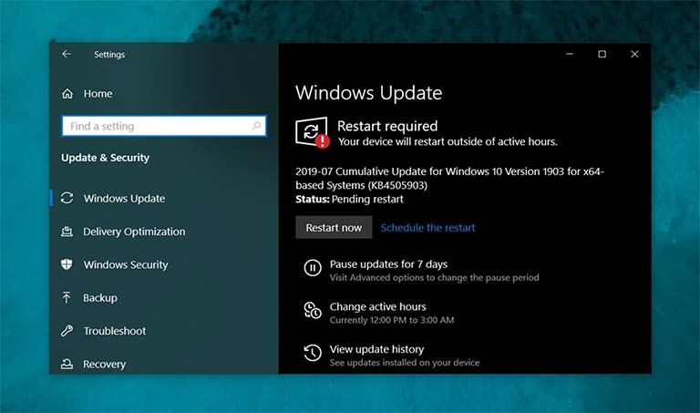 Microsoft Sedang Memperbaiki Masalah Windows Update Pada Windows 10 v.1903