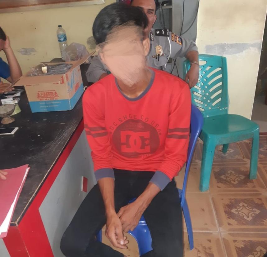 Bawa Lari Motor Teman, Erwin Diringkus di Riau