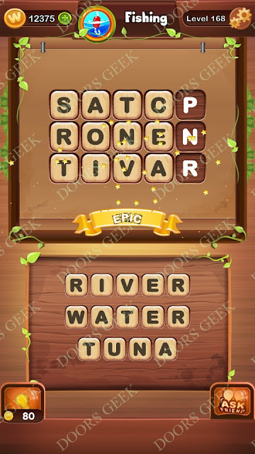 Word Bright Level 168 Answers, Cheats, Solutions, Walkthrough for android, iphone, ipad and ipod