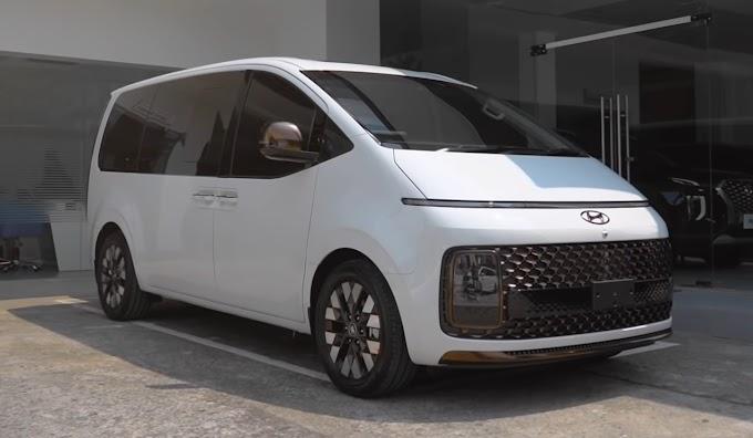 Hyundai Staria   Desain Futuristis dan Keren!
