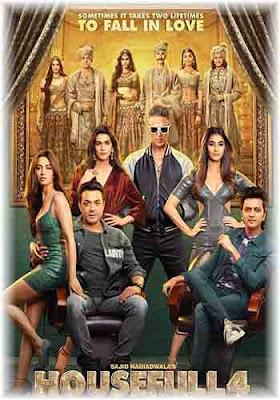 Housefull 4 2019 480p 300MB PreDVDRip Hindi Movie Download