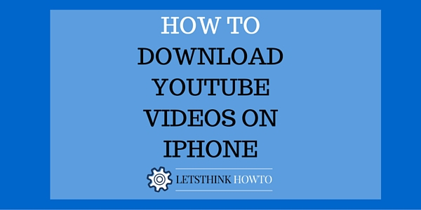 How to download youtube facebook videos on iphone no paid apps or downloading and distributing videos is against youtubes terms of service so any app which claims to do so will be removed by apple ccuart Image collections