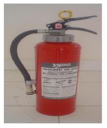 Pencegahan dan Pemadaman Kebakaran di Kapal, alat pemadam kebakaran tepung kimia