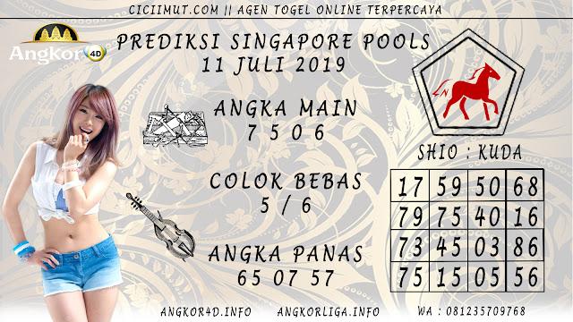 PREDIKSI SINGAPORE POOLS 11 JULI 2019
