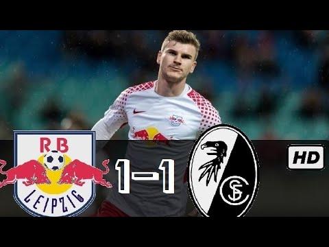 RasenBallsport Leipzig 1 - 1 Freiburg Bundesliga 2020 Highlights