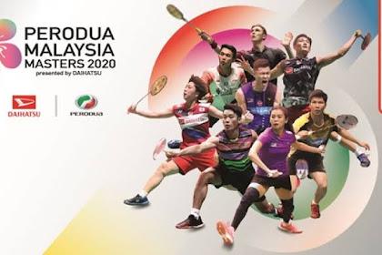 Pemain yang mengundurkan diri di Malaysia Masters 2020