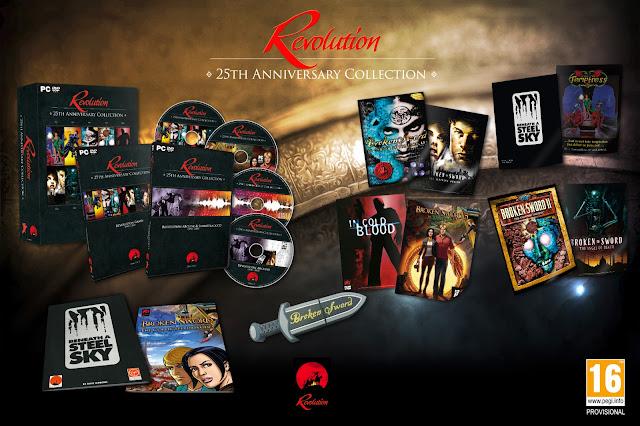 Revolution anuncia una compilación en disco de sus juegos y extras para celebrar el 25 aniversario