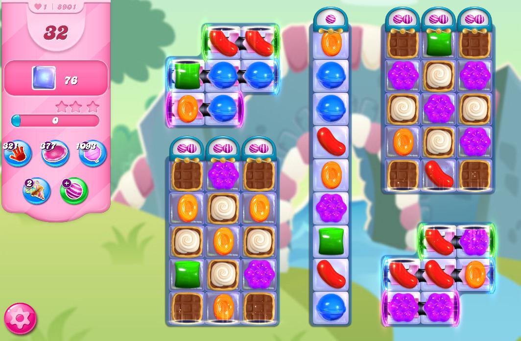 Candy Crush Saga level 8901