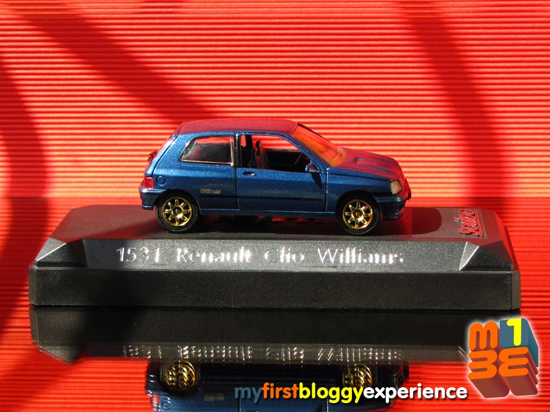 My first bloggy experience 1993 renault clio williams 150 for Placer motors used cars