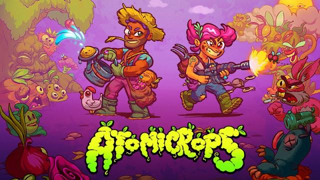 Atomicrops, jogo que combina tiro e simulação de fazenda, será lançado no Switch em maio