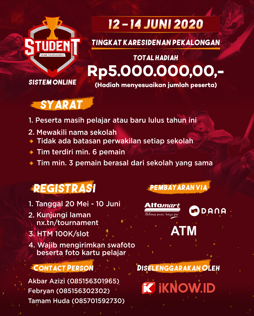 Mobile Legends Student Tournament (Karesidenan Pekalongan)