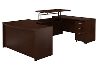 Series C Sit-Stand U-Desk