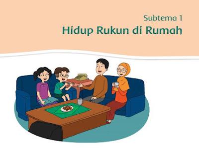 Buku Guru dan Buku Siswa K13 SD/MI Kelas 2 Tema 1 Hidup Rukun, https://bloggoeroe.blogspot.com/