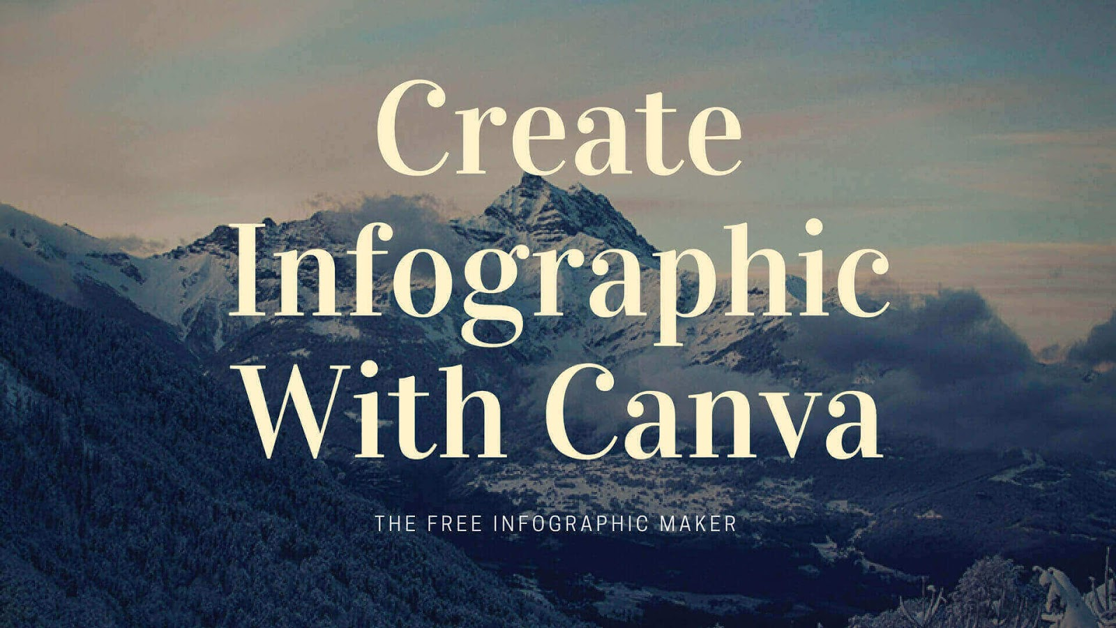 create infographic with canva