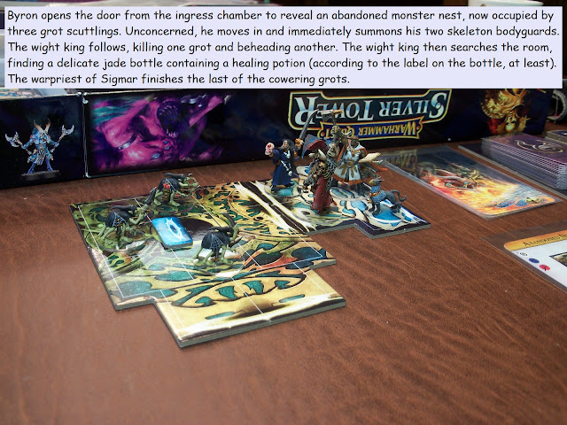 Warhammer Quest Silver Tower painted play through azyr
