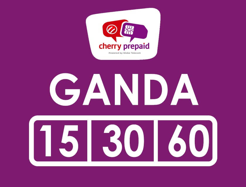 Cherry Prepaid Ganda Promo