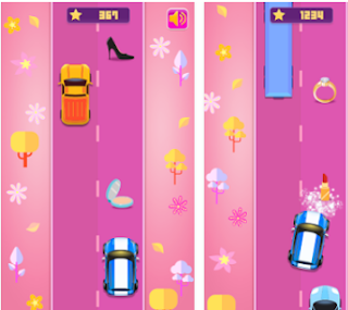 Girls Race 😄 Endless car racing game