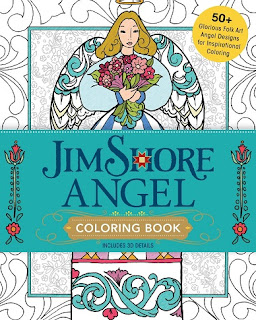 jim shore angel coloring book cover